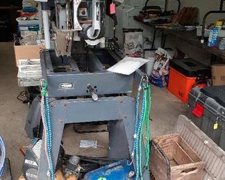 Craftsman radial arm saw, compressor