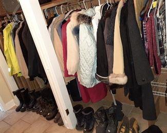 coats, boots