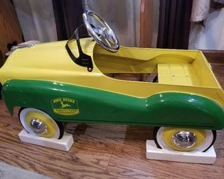 John Deere Ride on  Pedal Car (Never Used)