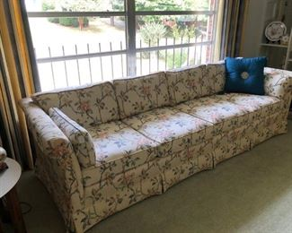 """96"""" sofa in beautiful condition.  Never really sat on."""
