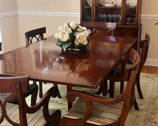 Duncan Phyfe Dining Room Suite