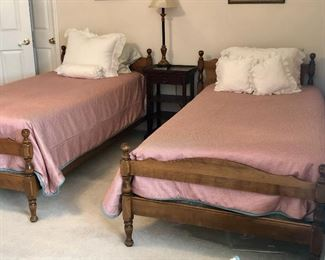 Matching Twin Beds