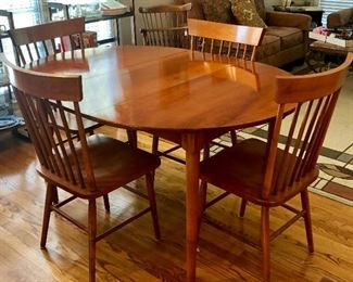 Oval Kitchen Table & 4 Chairs