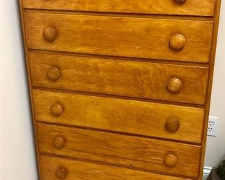 Jenny Lind Style Chest Of Drawers
