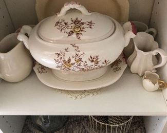 Just one of over  20 soup tureens.