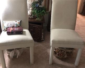 Pair of two matching chairs