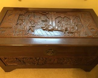 Early 20th century Asian camphor chest