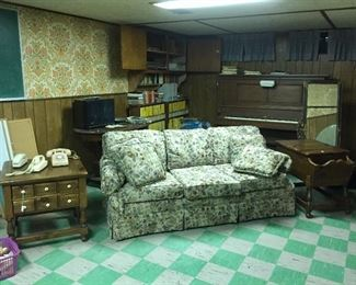 Basement loaded with great deals.