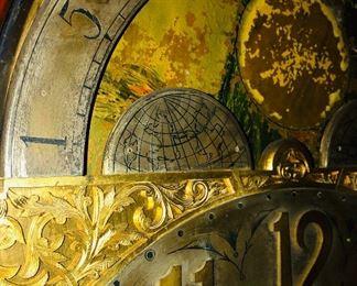 Clock detail.
