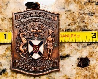 Bicentennial medal.