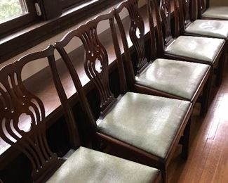 6 nice dining chairs