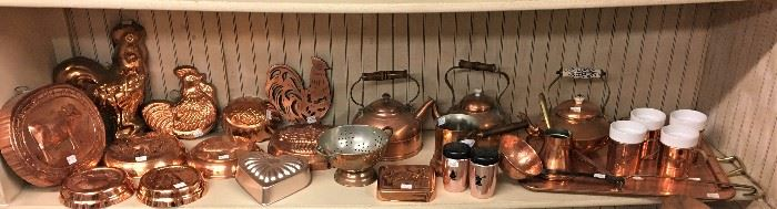 LOTS OF COPPER ITEMS