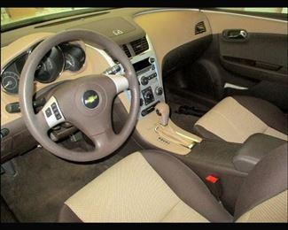 2011 Chevy Malibu Interior