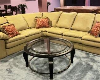 57 Khaki Color Sectional Sofa