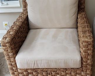 132 Wicker Rattan Furniture Chair