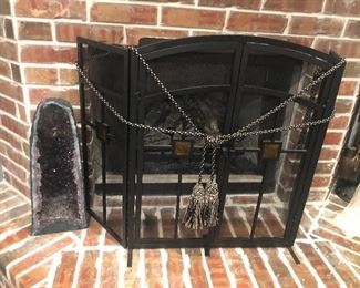 Fireplace screen only