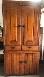 Fabulous primitive cupboard