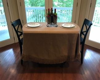Pottery Barn High top table and chairs