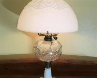 8382 Art Nouveau Lampmin