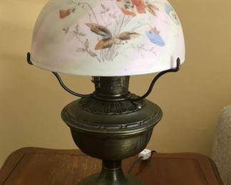 8382 HandPainted Lampmin