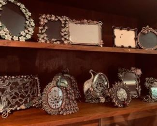 Jeweled Tizo Picture Frames