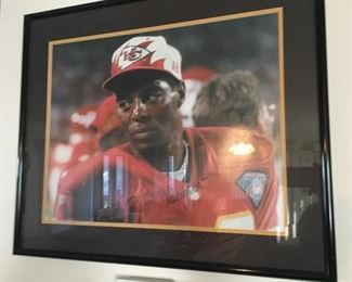 Chiefs framed art