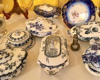 Tons of Flo-Blue china - tons!