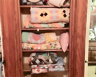 Hand-done quilts and afghans