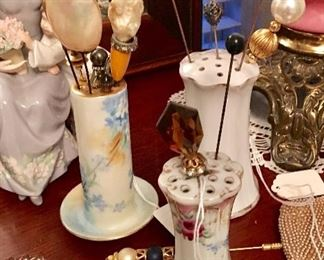 Need a hatpin?  Need a hatpin holder?