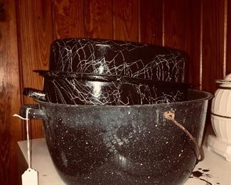 Lots of vintage cookware