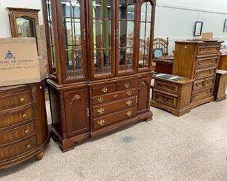 China cabinet foyer cabinet and Bedroom suits