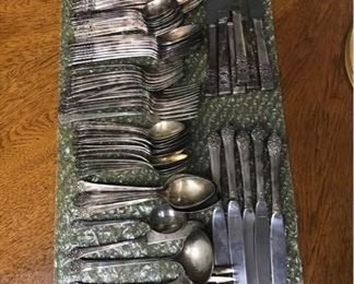 Silver Plated Cutlery Assortment