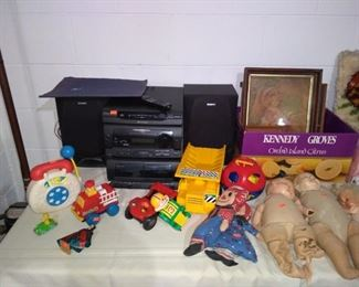 Vintage Toys, Stereo System