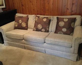Nice sleeper sofa.
