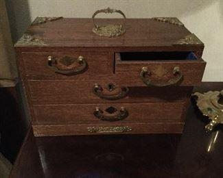 Nice jewelry box.