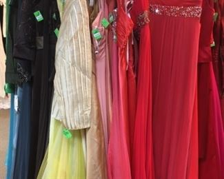 Oodles of women's evening attire at great prices.