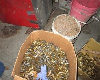 Brass Scrap shell casings