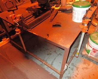 Steel Work Tables