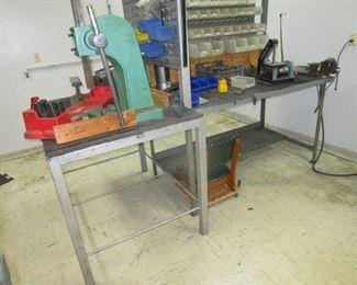 Steel Work Stations & Parts Bins