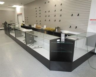 Display Cases, reception and check out point