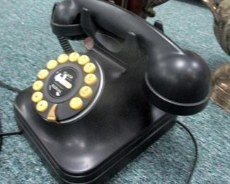 Rotary Phone look a like  with digital features