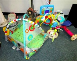 Baby-infant toys and carriers