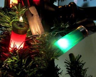 Christmas light shot gun shells