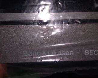 Never used Bang and Olufsen turntable in the box.