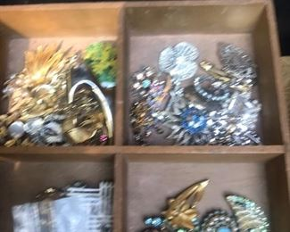 Costume jewelry. Dig in the bins and have fun