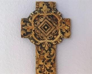 Cross on the wall