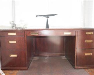 Paoli cherrywood office desk