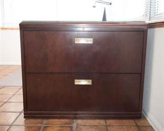 Paoli cherrywood  file cabinet