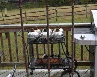 lamps with stand $170 ea stand