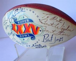 Rare signature of Bart Starr